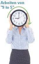Vollzeit Arbeitszeitmodell
