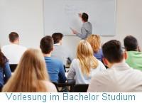 Vorlesung im Bachelor Studium