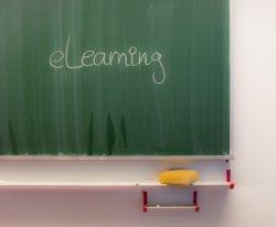 Tafelbild e-learning