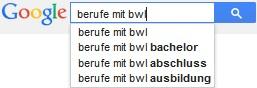 Serie Berufe mit BWL