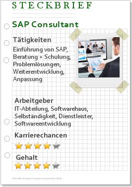 Steckbrief SAP Consultant