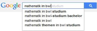 google-mathematik-bwl
